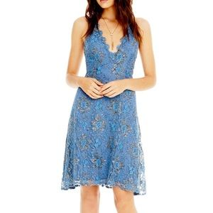 NWT Periwinkle Lace Strappy Back Dress